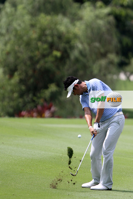 Masanori Kobayashi (JPN) on the 17th on Day 1 of the 2013 Maybank Malaysian Open, Kuala Lumpur Golf and Country Club, Kuala Lumpur, Malaysia 21/3/13...(Photo Jenny Matthews/www.golffile.ie)