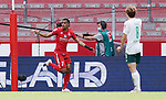 1:0 Tor, Jubel, Torschuetze Robin Quaison (Mainz)<br /><br />Sport: Fussball: 1. Bundesliga:: nphgm001:  Saison 19/20: 33. Spieltag: 1. FSV Mainz 05 vs SV Werder Bremen 20.06.2020<br />Foto: Wagner/Witters/Pool//via gumzmedia/nordphoto<br /><br /><br /> DFL REGULATIONS PROHIBIT ANY USE OF PHOTOGRAPHS AS IMAGE SEQUENCES AND OR QUASI VIDEO<br />EDITORIAL USE ONLY<br />NATIONAL AND INTERNATIONAL NEWS AGENCIES OUT
