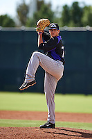 Colorado Rockies pitcher Peter Lambert (75) during an instructional league game against the San Francisco Giants on October 7, 2015 at the Giants Baseball Complex in Scottsdale, Arizona.  (Mike Janes/Four Seam Images)