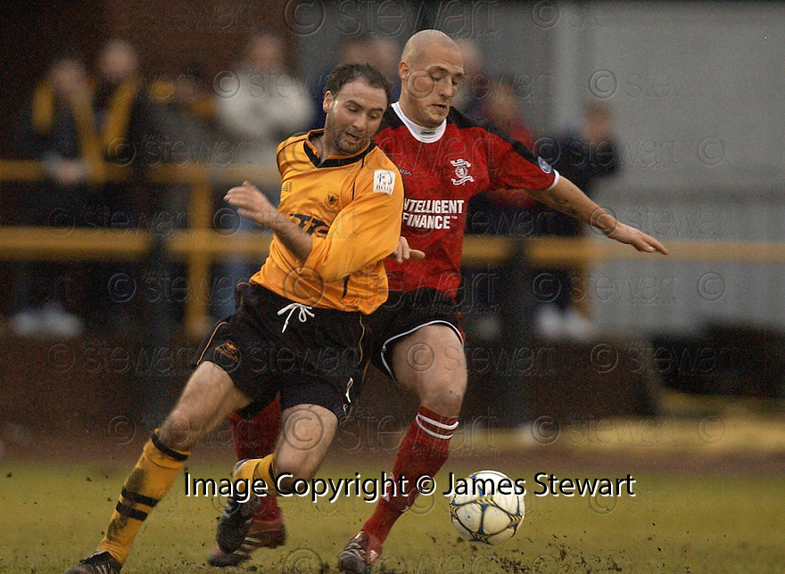 07/01/2006         Copyright Pic: James Stewart.File Name : sct_jspa04_alloa_v_livingston.ROSSS HAMILTON AND HAROLD PINXTEN....Payments to :.James Stewart Photo Agency 19 Carronlea Drive, Falkirk. FK2 8DN      Vat Reg No. 607 6932 25.Office     : +44 (0)1324 570906     .Mobile   : +44 (0)7721 416997.Fax         : +44 (0)1324 570906.E-mail  :  jim@jspa.co.uk.If you require further information then contact Jim Stewart on any of the numbers above.........