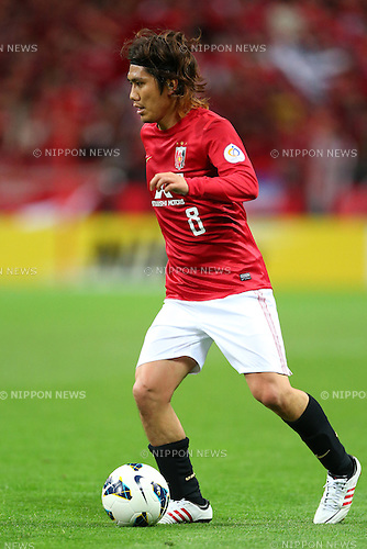 Yosuke Kashiwagi (Reds),.APRIL 3, 2013 - Football / Soccer :.AFC Champions League Group F match between Urawa Red Diamonds 1-3 Jeonbuk Hyundai Motors at Saitama Stadium 2002 in Saitama, Japan. (Photo by Kenzaburo Matsuoka/AFLO)