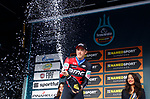 Rohan Dennis (AUS) BMC Racing Team wins Stage 7 of the 53rd edition of the Tirreno-Adriatico 2018 a 10km individual time trial around San Benedetto del Tronto, Italy. 13th March 2018.<br /> Picture: LaPresse/Spada | Cyclefile<br /> <br /> <br /> All photos usage must carry mandatory copyright credit (&copy; Cyclefile | LaPresse/Spada)