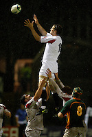 Photo: Richard Lane/Richard Lane Photography. England U20 v South Africa U20. Semi Final. 18/06/2008. England's Jon Fisher wins a lineout.