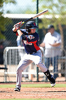 Cleveland Indians outfielder Jodd Carter (22) during an Instructional League game against the Seattle Mariners on October 1, 2014 at Goodyear Training Complex in Goodyear, Arizona.  (Mike Janes/Four Seam Images)