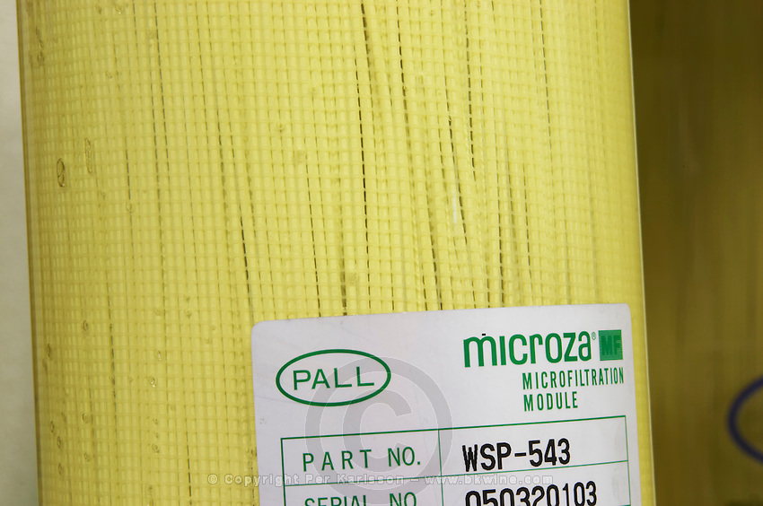 tangential cross flow pall filter microza module delas freres tournon-s-r rhone france