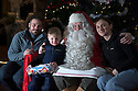 03/12/15<br /> <br /> Tel: 07734 603843.<br /> <br /> The Julian family from Derby: Ethan, Nadine and Nick meeting Santa.<br /> <br /> <br /> Sick children are flown from East Midlands Airport to visit Santa and spend the day in Lapland. When You Wish Upon A Star have been arranging these festive flights for 24 years.<br />  <br /> All Rights Reserved: F Stop Press Ltd. +44(0)1335 418365   +44 (0)7765 242650 www.fstoppress.com