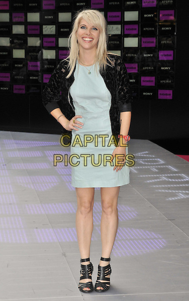 LONDON, ENGLAND - JULY 13: Pips Taylor attends the 'Kasabian Summer Solstice 2014 gig' VIP screening, Vue West End cinema, Leicester Square, on Wednesday July 16, 2014 in London, England, UK. <br /> CAP/CAN<br /> &copy;Can Nguyen/Capital Pictures