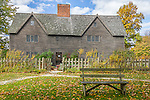 Fall foliage in Ipswich, Massachusetts, USA