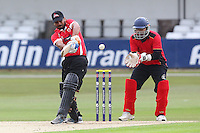 Belgium vs Gibraltar (batting) - Pepsi ICC Europe Division Two T20 Cricket at the Essex County Ground, Chelmsford - 23/06/14 - MANDATORY CREDIT: Gavin Ellis/TGSPHOTO - Self billing applies where appropriate - 0845 094 6026 - contact@tgsphoto.co.uk - NO UNPAID USE