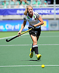 The Hague, Netherlands, June 13: Anissa Korth #27 of Germany in action during the field hockey placement match (Women - Place 7th/8th) between Korea and Germany on June 13, 2014 during the World Cup 2014 at Kyocera Stadium in The Hague, Netherlands. Final score 4-2 (2-0)  (Photo by Dirk Markgraf / www.265-images.com) *** Local caption ***
