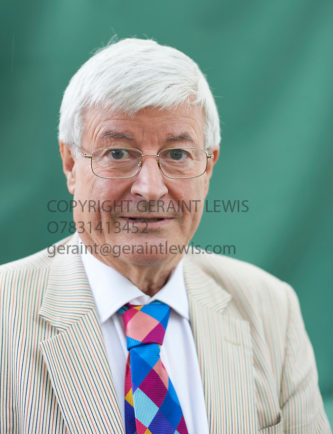 Robin Harper, who became the first member of the green party elected into Parliament in 1999, at The Edinburgh International Book Festival 2011.  Credit Geraint Lewis