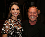 "Sutton Foster and Michael Kors attend the New York City Center Celebrates 75 Years with a Gala Performance of ""A Chorus Line"" at the City Center on November 14, 2018 in New York City."