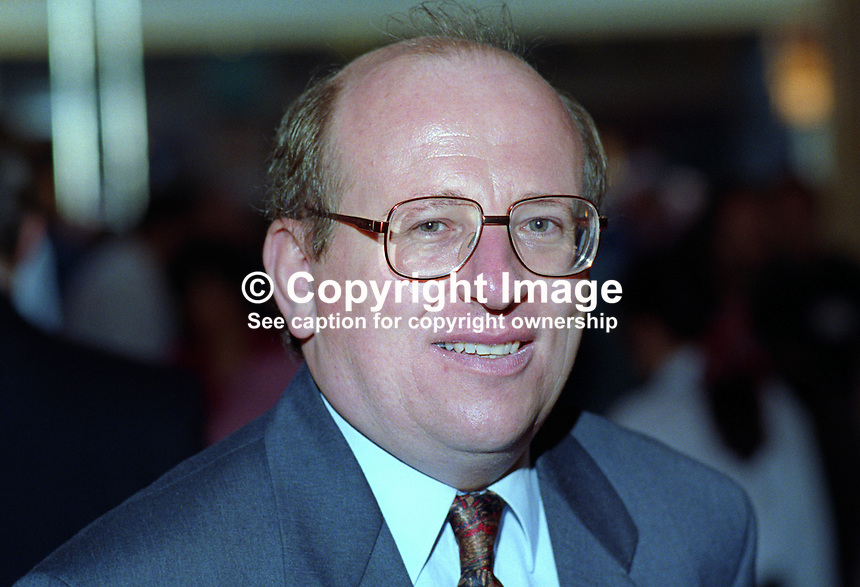 Mike Gapes, MP, Labour Party, UK, taken annual conference October 1992. 19921025MG..Copyright Image from Victor Patterson, 54 Dorchester Park, Belfast, UK, BT9 6RJ..Tel: +44 28 9066 1296.Mob: +44 7802 353836.Voicemail +44 20 8816 7153.Skype: victorpattersonbelfast.Email: victorpatterson@me.com.Email: victorpatterson@ireland.com (back-up)..IMPORTANT: If you wish to use this image or any other of my images please go to www.victorpatterson.com and click on the Terms & Conditions. Then contact me by email or phone with the reference number(s) of the image(s) concerned.