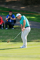 Francesco Molinari (ITA) on the 16th fairway during the 3rd round at the WGC HSBC Champions 2018, Sheshan Golf CLub, Shanghai, China. 27/10/2018.<br /> Picture Fran Caffrey / Golffile.ie<br /> <br /> All photo usage must carry mandatory copyright credit (&copy; Golffile | Fran Caffrey)