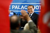 Silvio Berlusconi<br /> Rome December 7th 2018. Convention of Forza Italia center-right party.<br /> Foto Samantha Zucchi Insidefoto
