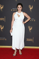 LOS ANGELES, CA - SEPTEMBER 09: Rachel Bloom at the 2017 Creative Arts Emmy Awards at Microsoft Theater on September 9, 2017 in Los Angeles, California. C