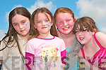 Enjoying the fun at the opening of Ballybunion Leisure centre on Friday were, Ailish Lynch, Robin O'Callaghan, Lauren  and Rachel Enright ..   Copyright Kerry's Eye 2008