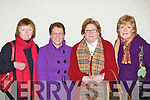 Maureen Daly, Kathleen O'Brien, Pearl Dineen and Noreen Fleming enjoying the Monsignor Hugh O'Flaherty memorial concert in the Church of the Resurrection Killarney on Sunday night