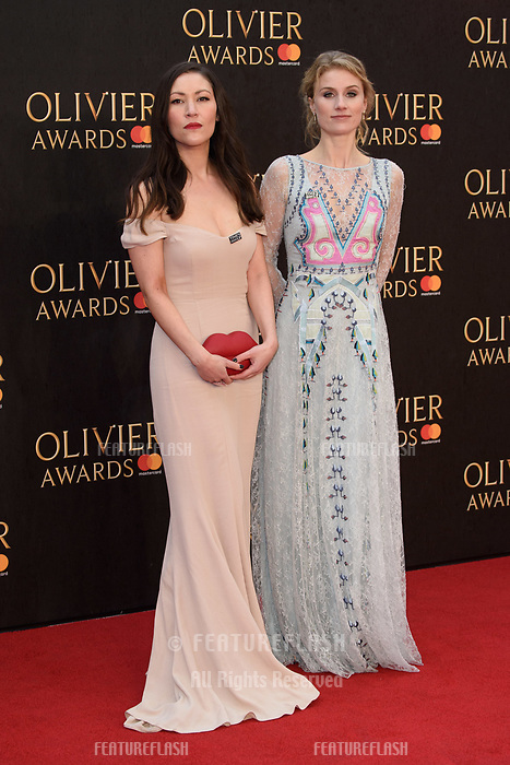 Jessica Swale arriving for the Olivier Awards 2018 at the Royal Albert Hall, London, UK. <br /> 08 April  2018<br /> Picture: Steve Vas/Featureflash/SilverHub 0208 004 5359 sales@silverhubmedia.com