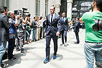 Real Madrid's Gareth Bale arrives to Crystal Gallery of the Palacio de Cibeles in Madrid, May 22, 2017. Spain.<br /> (ALTERPHOTOS/BorjaB.Hojas)