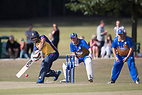 Ravi Bopara of Essex pulls through the on side during Upminster CC vs Essex CCC, Benefit Match Cricket at Upminster Park on 8th September 2019