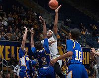 Courtney Range of California shoots the ball during the game against Bakersfield at Haas Pavilion in Berkeley, California on December 15th, 2013.  California defeated Bakersfield Roadrunners, 70-51.
