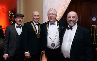 Pictured at the Kerry Branch of IHF Ball in the Muckross Park Hotel at the weekend were Deputy Michael Healy-Rae, Terence Mulcahy, Chairman, Kerry Branch, Joe Dolan, President of the IHF Danny Healy-Rae.<br /> Photo: Don MacMonagle<br /> <br /> Repro free photo
