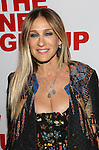 Sarah Jessica Parker attends the opening night party for the New Group Production of Wallace Shawn's  'Evening at the Talk House' at Green Fig Urban Eatery on 2/16/2017 in New York City.