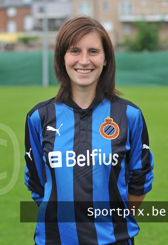 Club Brugge Dames : Lies Van Hamme.foto DAVID CATRY / Vrouwenteam.be