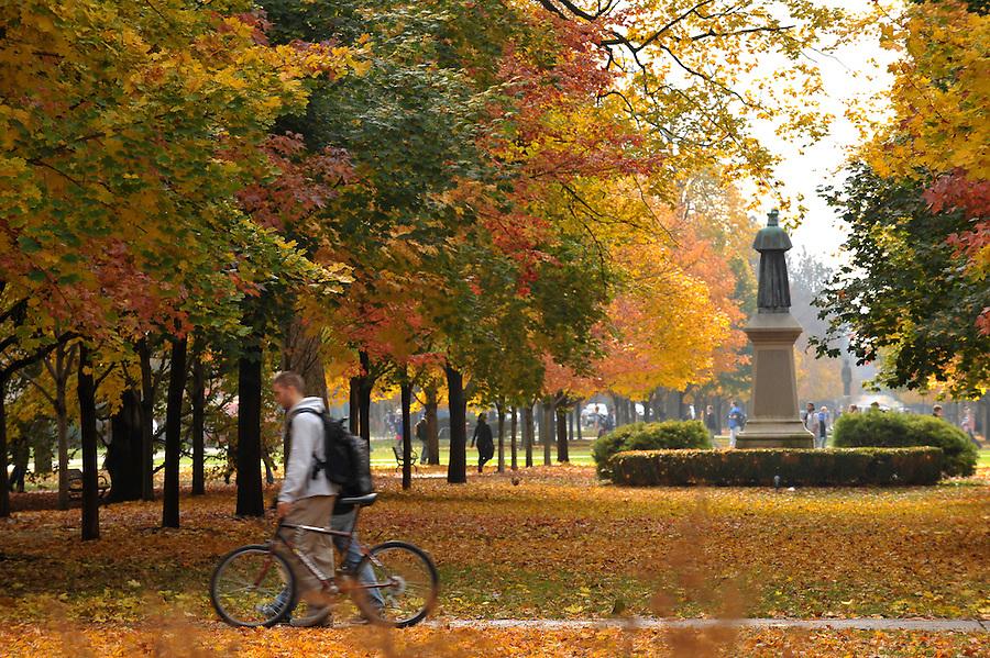 Fall 2009..Photo by Matt Cashore/University of Notre Dame