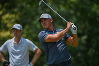 Brooks Koepka (USA) watches his tee shot on 9 during round 4 of the Fort Worth Invitational, The Colonial, at Fort Worth, Texas, USA. 5/27/2018.<br /> Picture: Golffile | Ken Murray<br /> <br /> All photo usage must carry mandatory copyright credit (© Golffile | Ken Murray)