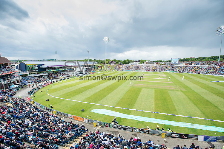 Picture by Allan McKenzie/SWpix.com - 21/05/2016 - Cricket - 2nd Investec Test - England v Sri Lanka - Headingley Cricket Ground, Leeds, England -  The brief, GV, general view.