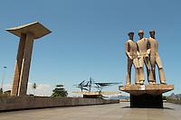 RIO DE JANEIRO, RJ, 19.11.2013 - TOMBAMENTO DEFINITIVO DO MONUMENTO DOS PRACINHAS PELO IPHAN - O Monumento aos Mortos da Segunda Guerra Mundial que se encontra no Parque do Flamengo foi tombado definitivamente pelo Instituto de Patrimônio Histórico e Artístico (IPHAN), a decisão de tombar o monumento e de 2010,  mas, mas por questões burocráticas, o Iphan somente agora comunicou oficialmente a medida através Diário Oficial da União. Nessa terça 19. (Foto: Levy Ribeiro / Brazil Photo Press)