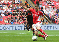 Ben Purrington of Charlton Athletic in action during Charlton Athletic vs Sunderland AFC, Sky Bet EFL League 1 Play-Off Final Football at Wembley Stadium on 26th May 2019