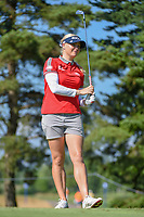 Charley Hull (ENG) watches her tee shot on 3 during round 1 of the 2018 KPMG Women's PGA Championship, Kemper Lakes Golf Club, at Kildeer, Illinois, USA. 6/28/2018.<br /> Picture: Golffile | Ken Murray<br /> <br /> All photo usage must carry mandatory copyright credit (&copy; Golffile | Ken Murray)