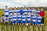 Castleisland Desmonds minors travelled a short journey to Tralee last Saturday evening to play John Mitchells in the county league