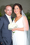 Laura Cox, daughter of Brigid, Woodview Park, Tralee, and Danny Hobbart, son of Paudie and Margaret, Forge Cross, Tralee who were married on saturday in St Brendan and Mary's Church, Tralee. Fr Patsy Lynch officiated at the ceremony. Groomsmen were, Frank,paudie and Neil Hobbart. Bridesmaids were, Faith Cox,Ann Tracey and Lizzie O'Connor.Flowergirl was Emma Hobbart. pageboy was Dylan Hobbart. The reception was held iN The Earl of Desmond Hotel, Tralee. The couple will reside Tralee.