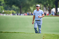 Kevin Kisner (USA) approaches the 10th tee during Sunday's final round of the PGA Championship at the Quail Hollow Club in Charlotte, North Carolina. 8/13/2017.<br /> Picture: Golffile | Ken Murray<br /> <br /> <br /> All photo usage must carry mandatory copyright credit (&copy; Golffile | Ken Murray)