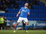 St Johnstone v Aberdeen...23.01.15   SPFL<br /> Simon Lappin reacts after putting his free kick over the bar<br /> Picture by Graeme Hart.<br /> Copyright Perthshire Picture Agency<br /> Tel: 01738 623350  Mobile: 07990 594431
