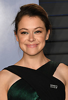 04 March 2018 - Los Angeles, California - Tatiana Maslany. 2018 Vanity Fair Oscar Party hosted following the 90th Academy Awards held at the Wallis Annenberg Center for the Performing Arts. <br /> CAP/ADM/BT<br /> &copy;BT/ADM/Capital Pictures