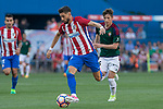 Yannick Ferreira Carrasco of Atletico de Madrid during the match of La Liga between  Atletico de Madrid and Club Atletico Osasuna at Vicente Calderon  Stadium  in Madrid, Spain. April 15, 2017. (ALTERPHOTOS / Rodrigo Jimenez)