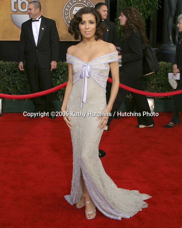 Eva Longoria.12th Annual Screen Actors Guild  Awards.Shrine Auditorium.Los Angeles, CA.January 29, 2006.©2006 Kathy Hutchins / Hutchins Photo....