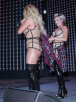 UNIVERSAL CITY, CA, USA - JULY 10: Shannon Bex, Dawn Richard and Aubrey O'Day of Danity Kane perform at Universal CityWalk's 'Music Spotlight Series' at Universal CityWalk on July 10, 2014 in Universal City, California, United States. (Photo by David Acosta/Celebrity Monitor)