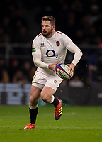 England's Elliot Daly in action during todays match<br /> <br /> Photographer Bob Bradford/CameraSport<br /> <br /> 2018 Quilter Internationals - England v Australia - Saturday 24th November 2018 - Twickenham - London<br /> <br /> World Copyright &copy; 2018 CameraSport. All rights reserved. 43 Linden Ave. Countesthorpe. Leicester. England. LE8 5PG - Tel: +44 (0) 116 277 4147 - admin@camerasport.com - www.camerasport.com