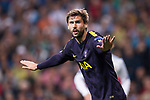 Fernando Llorente of Tottenham Hotspur FC gestures during the UEFA Champions League 2017-18 match between Real Madrid and Tottenham Hotspur FC at Estadio Santiago Bernabeu on 17 October 2017 in Madrid, Spain. Photo by Diego Gonzalez / Power Sport Images