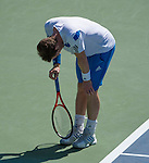 Andy Murray (GBR) defeats Mikhail Youzhny (RUS) 6-2, 6-3, at the Western & Southern Open in Mason, OH on August 14, 2013.