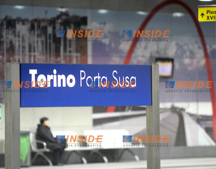 La nuova stazione di Porta Susa di Torino...Torino, 14/01/2013..Foto Insidefoto Giorgio Perottino