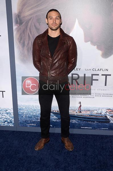 "Ryan Guzman<br /> at the ""Adrift"" World Premiere, Regal Cinemas L.A. Live, Los Angeles, CA 05-23-18<br /> David Edwards/DailyCeleb.com 818-249-4998"