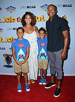"05 August  2017 - Los Angeles, California - Gloria Govan, Derek Fisher.  World premiere of ""Nut Job 2: Nutty by Nature""  held at Regal Cinema at L.A. Live in Los Angeles. Photo Credit: Birdie Thompson/AdMedia"