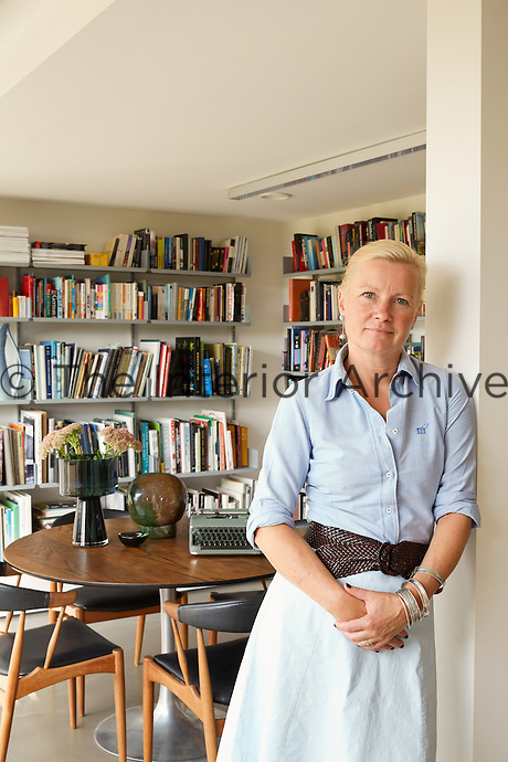 Olivia Pomp at home in Suffolk